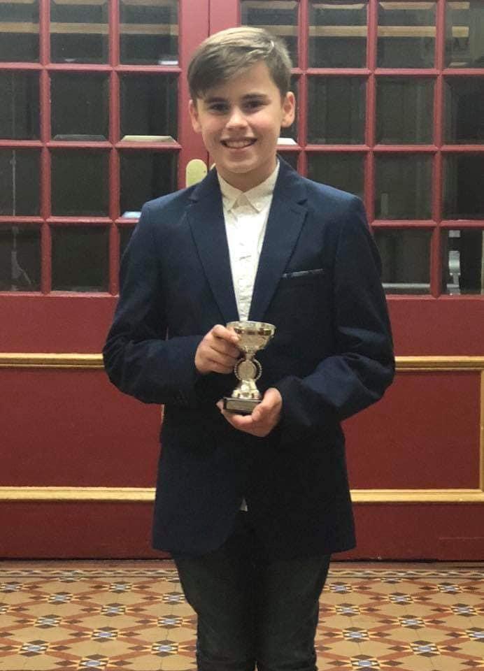 Arron Crombie, Tristars 2 Male Winner