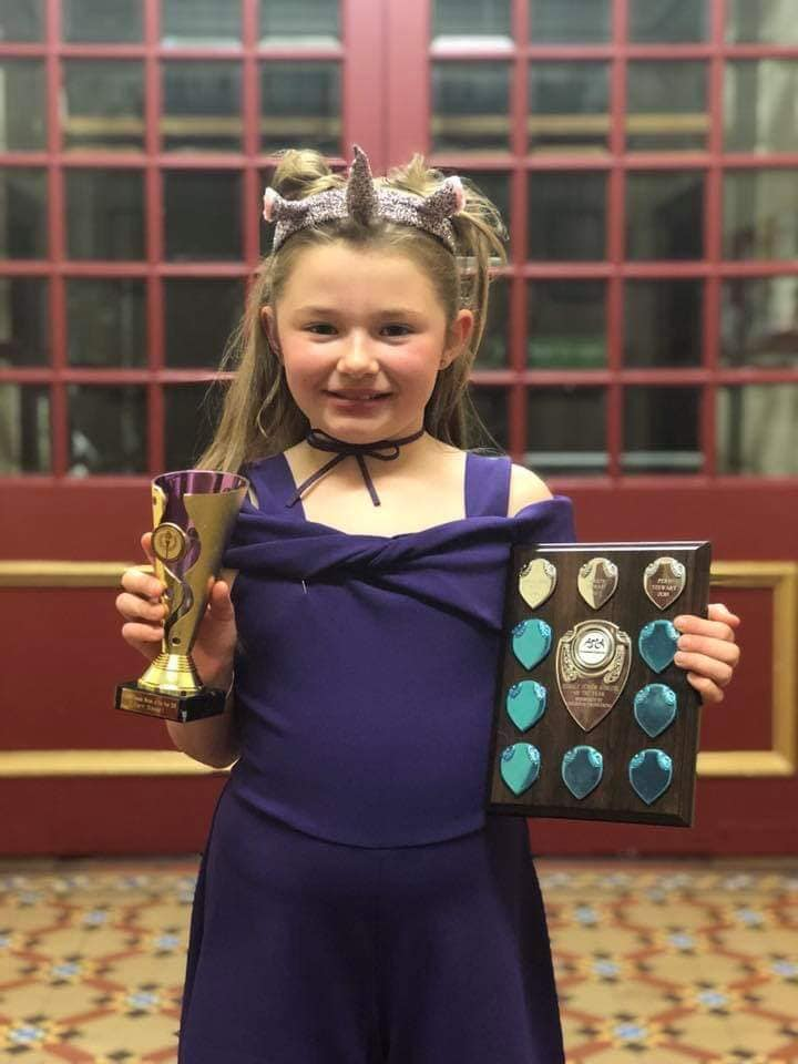 Fern Stewart, Tristarts Female Winner & Junior Athlete of the Year