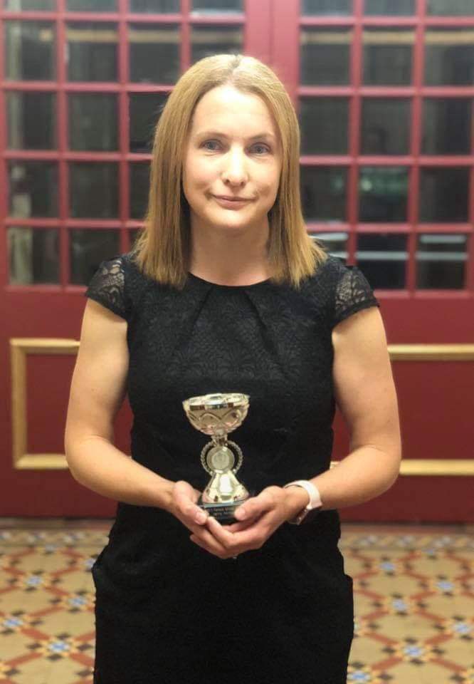 Jenny Holmes, Female Most Improved Athlete of the Year