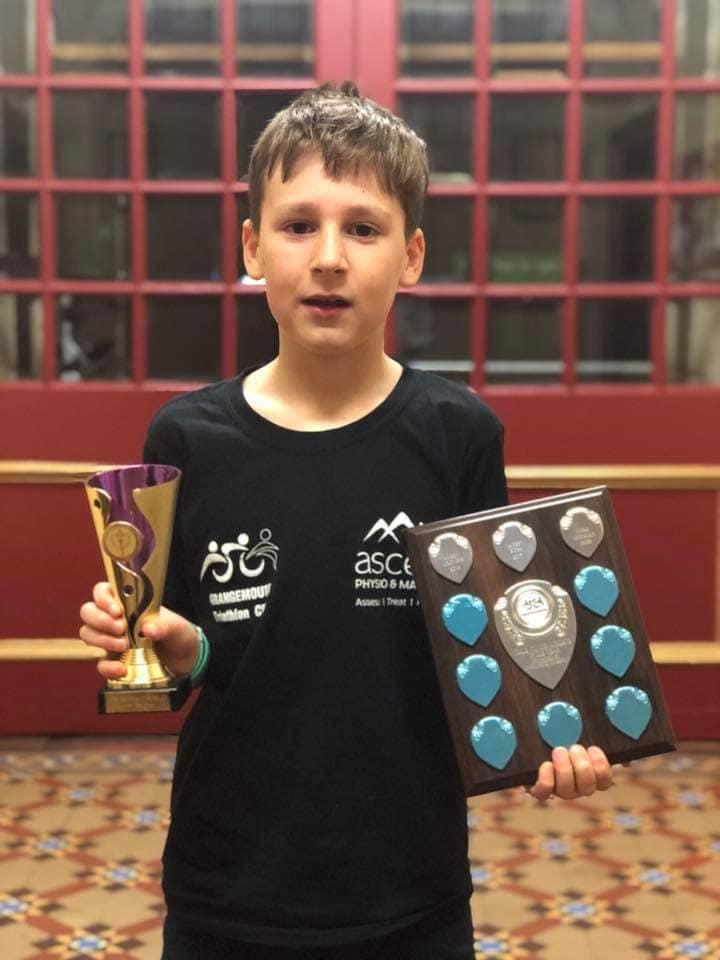 Luke Stedman, Tristarts Male Winner & Junior Male Athlete of the year