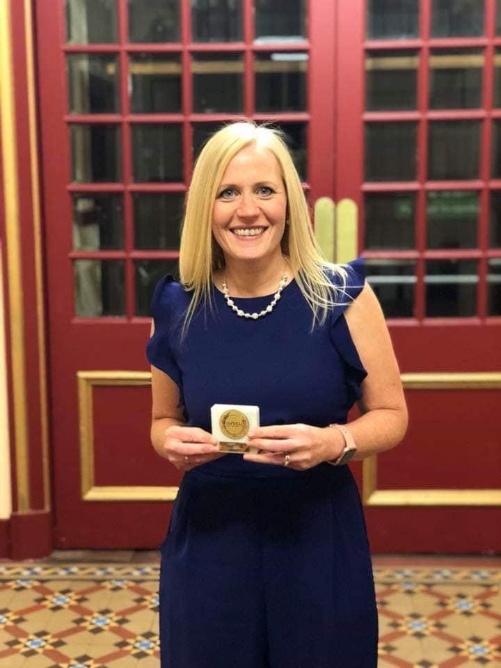 Margaret Crombie, Volunteer of the Year