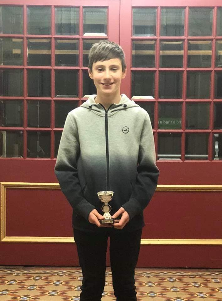 Mathew Ross, Tristars 3 Male Winner