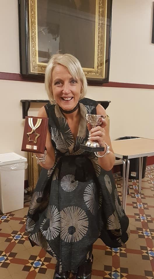 Barbara-Ann Hogarth, Vet 2 Female Winner & Club Member of the Year