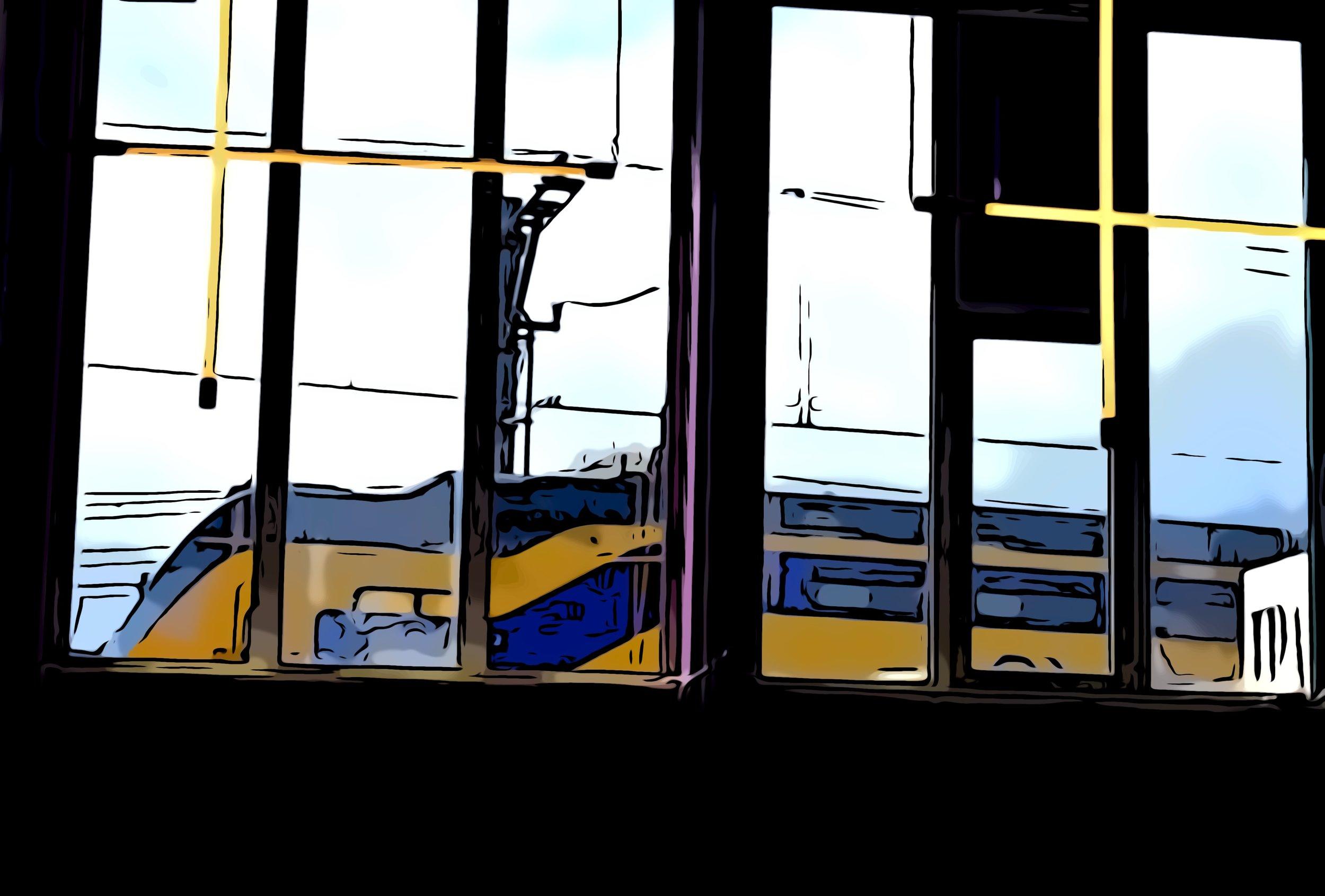 Wist je dat PERON E. gelijk naast de treinsporen ligt en maar 5 minuten vanaf Utrecht Central station?! -