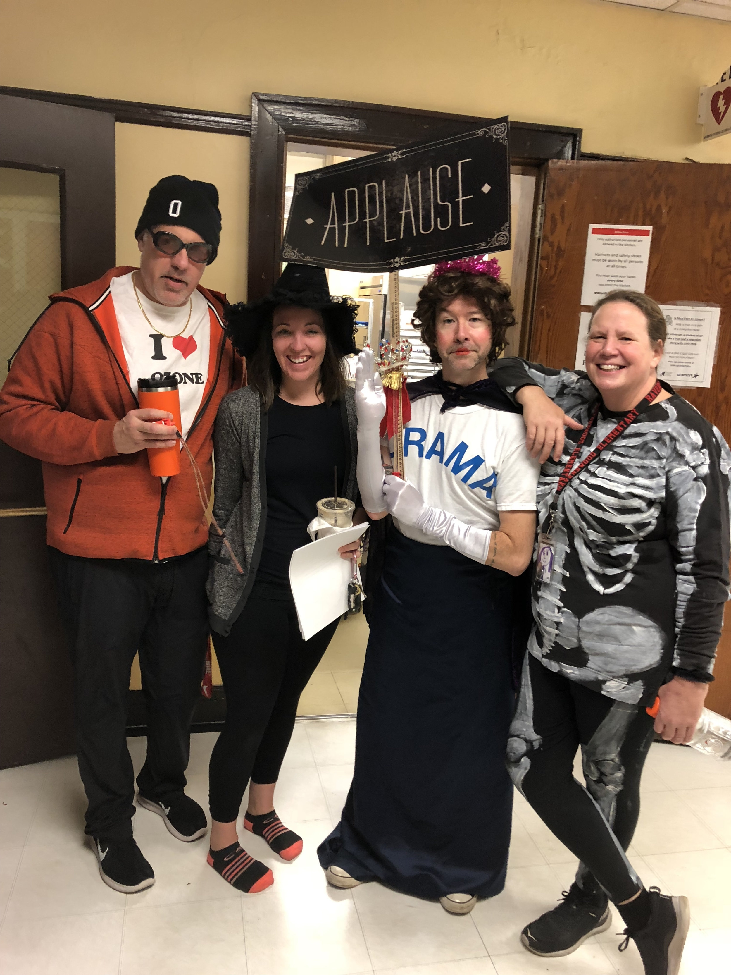 Our Essentials teachers celebrating Halloween 2018. We go all in every day of the year!