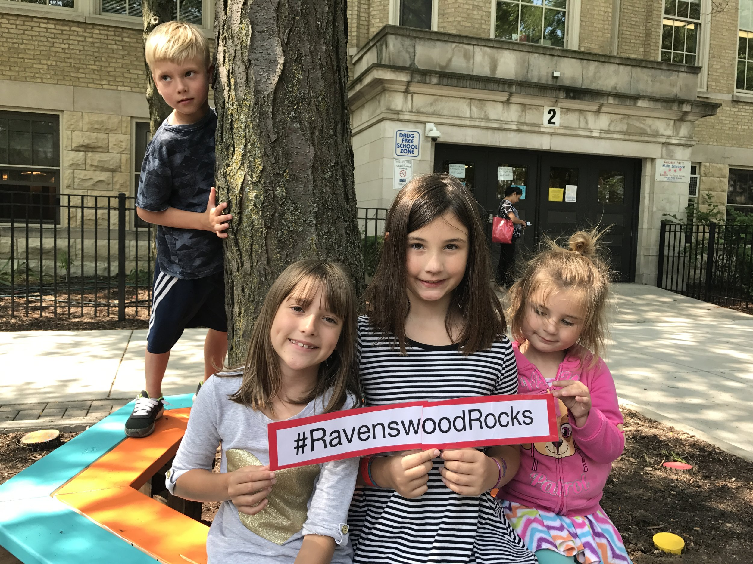 Students agree with our social media hashtag: #RavenswoodRocks!
