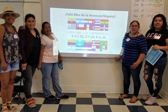 Congratulations to our 2019-2020 BAC officers!  From left to right: Shay Windsor- Representative, Jazmin Manon- Representative, Rosario Ortega- Secretary, Migdalia Duarte- Vice President, and Josefina Luna- President.