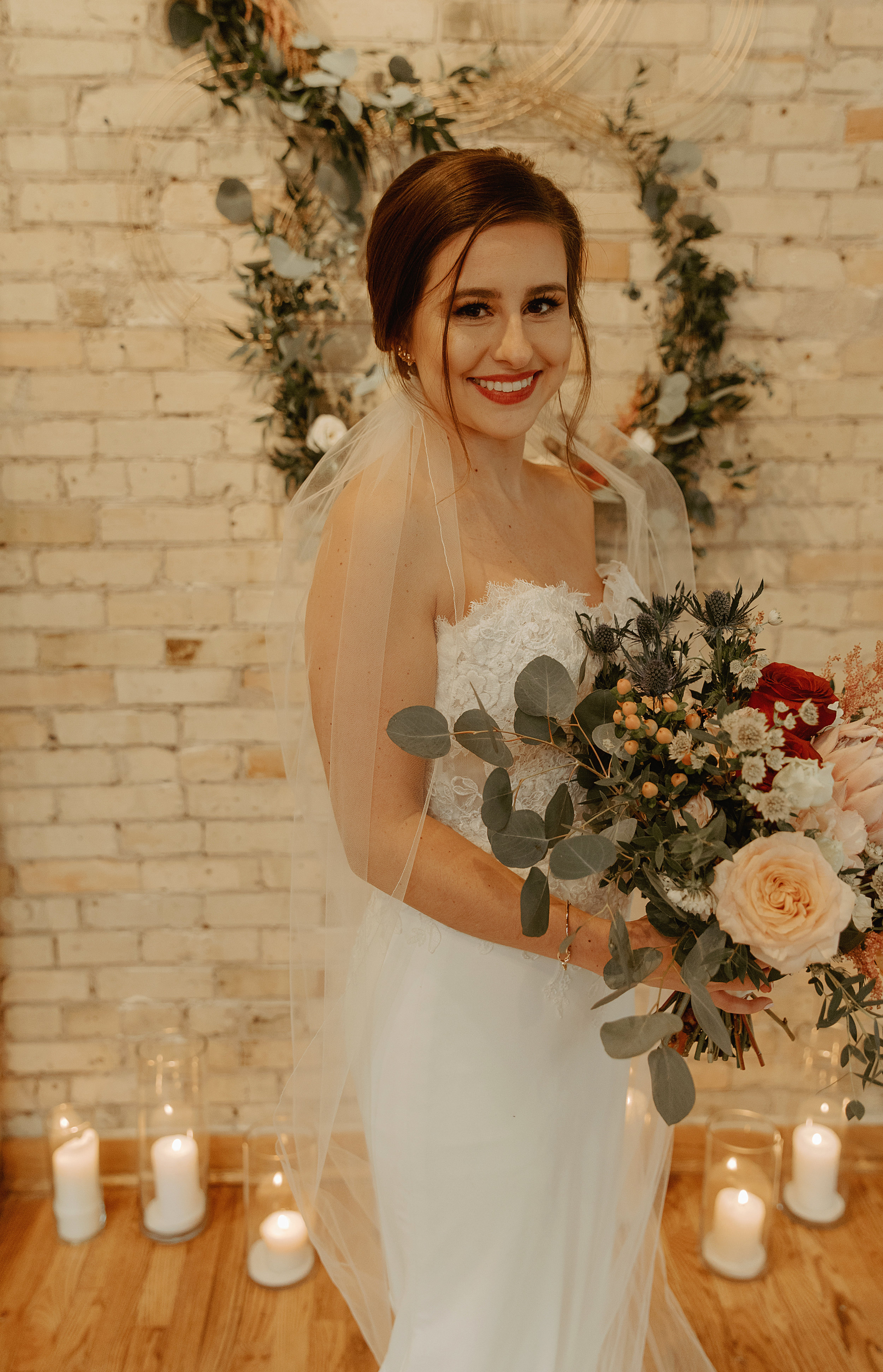 Emma and Buster Elopement - Bridal Portriat - by Nikki Kate Photography.jpg