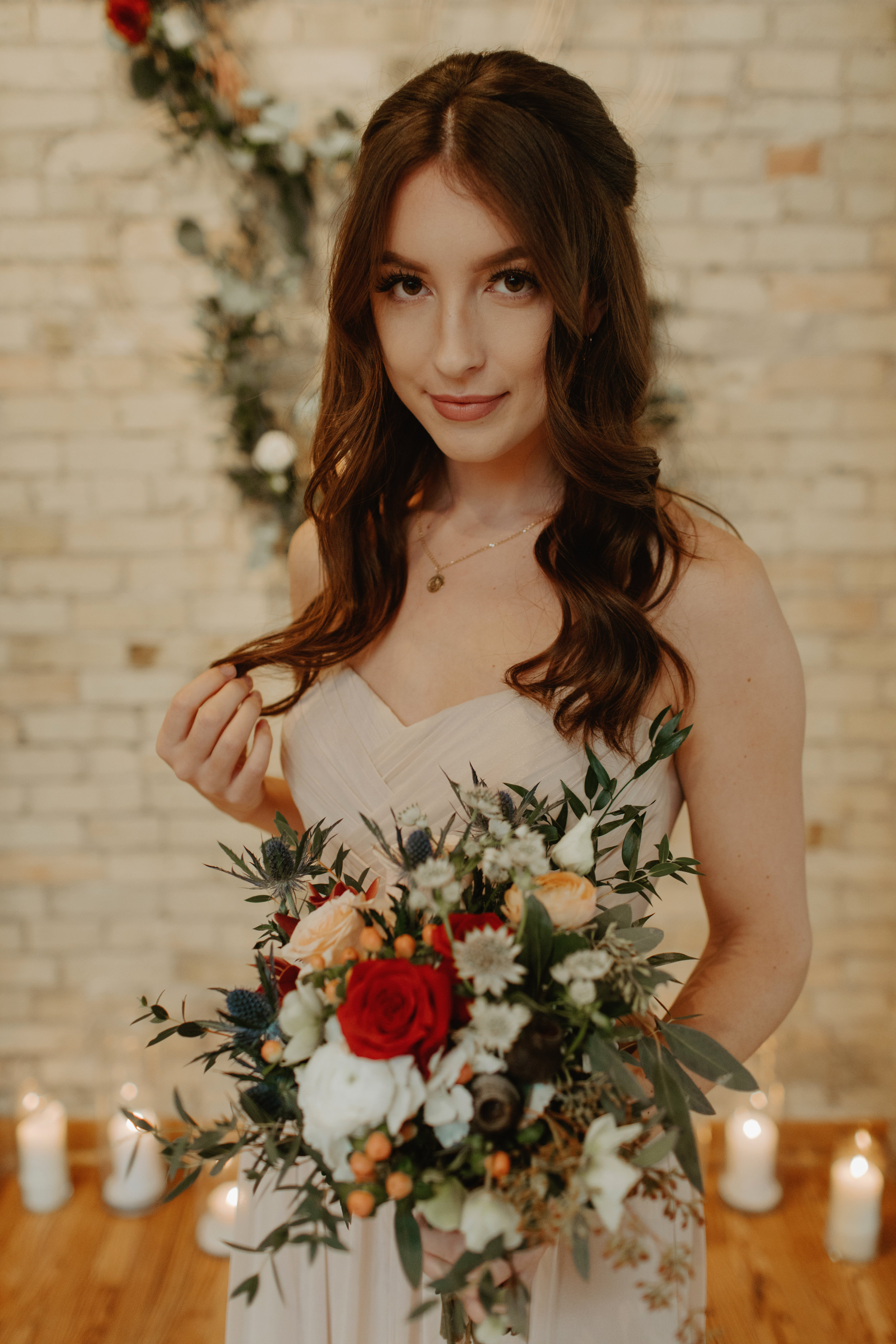 Emma and Buster Elopement - Bridemaid Portrait 2 - by Nikki Kate Photography.jpg