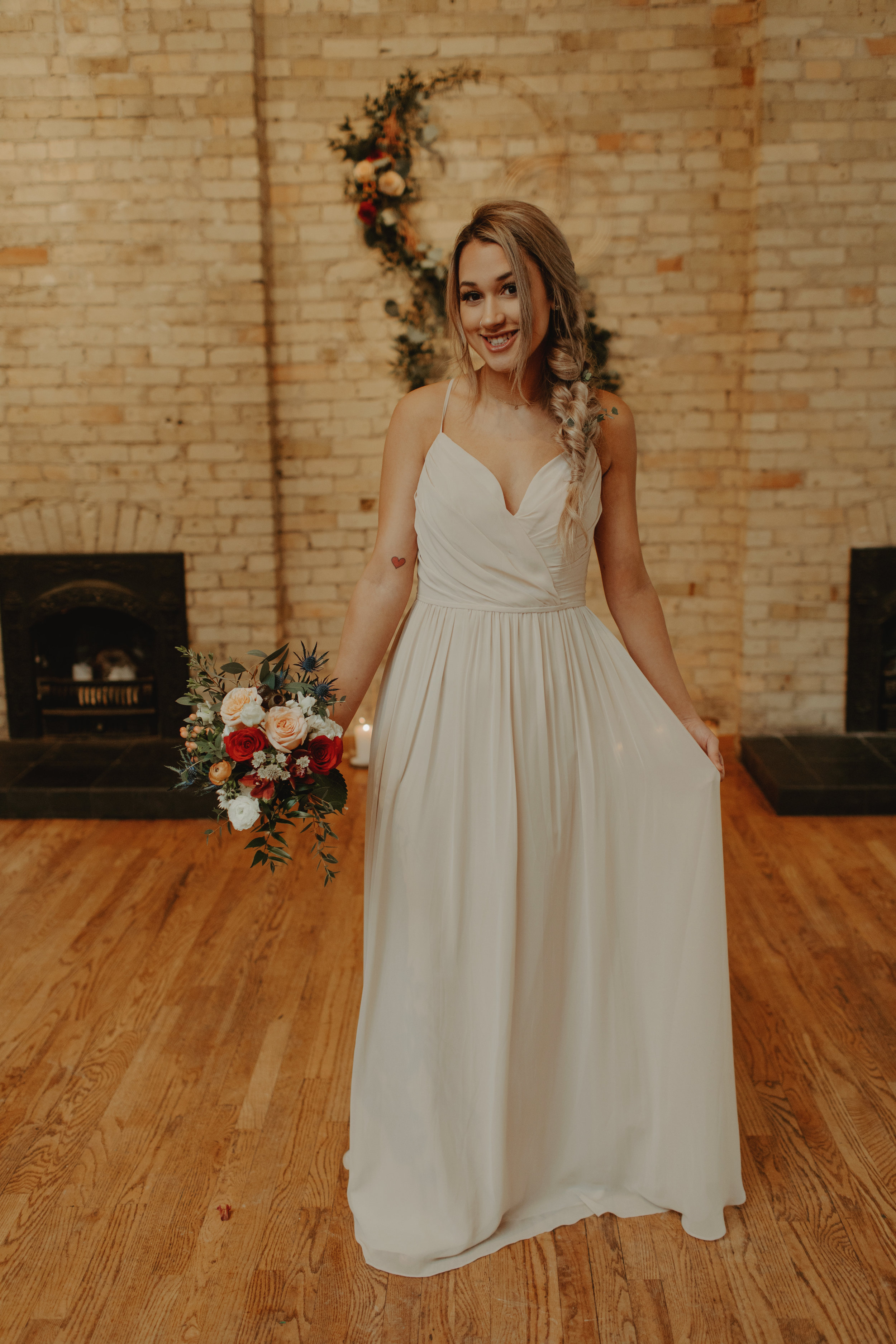 Emma and Buster Elopement - Bridemaid Portrait 1 - by Nikki Kate Photography.jpg