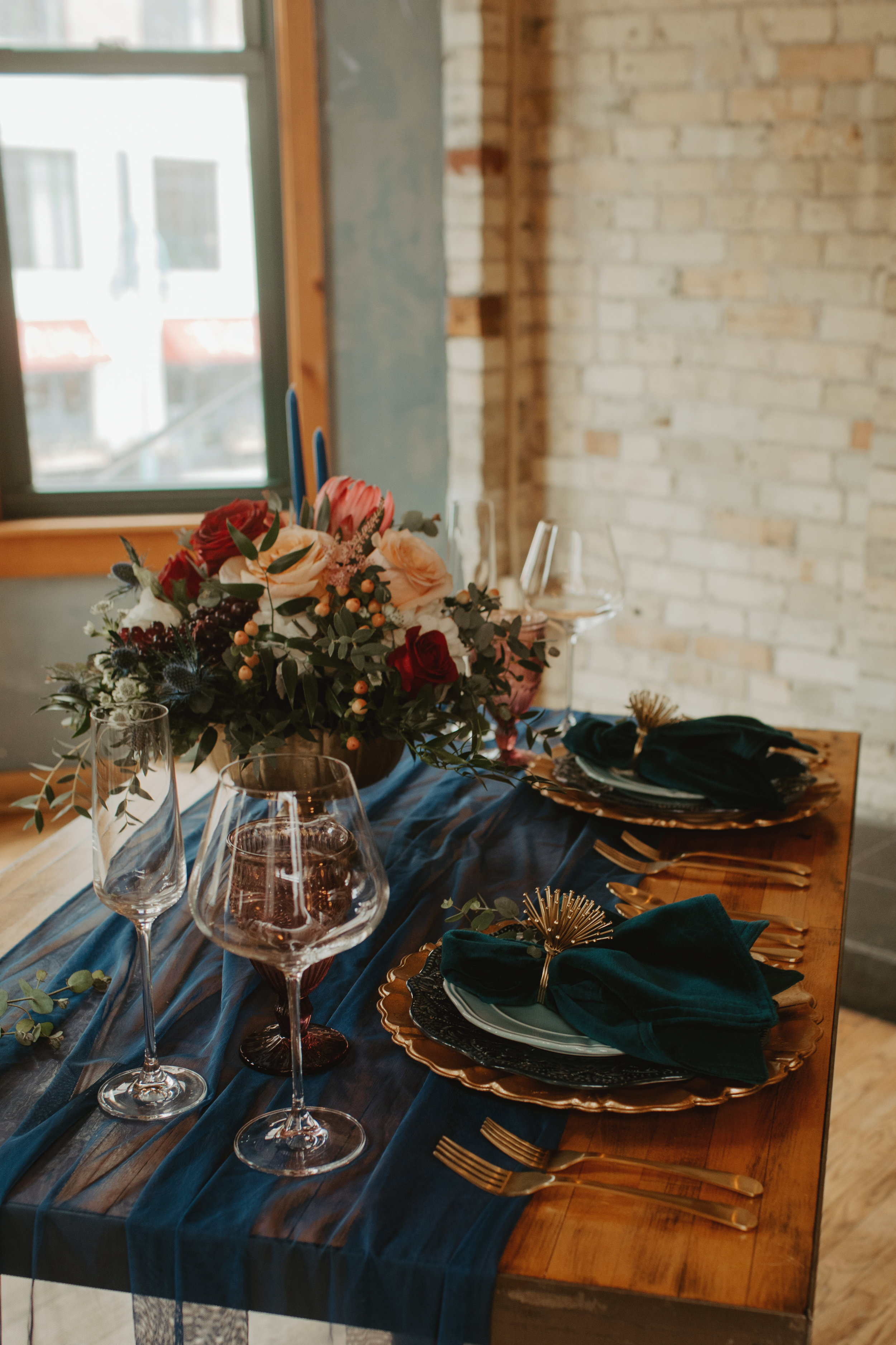 Emma and Buster Elopement - Sweetheart Table 1 - by Nikki Kate Photography.jpg