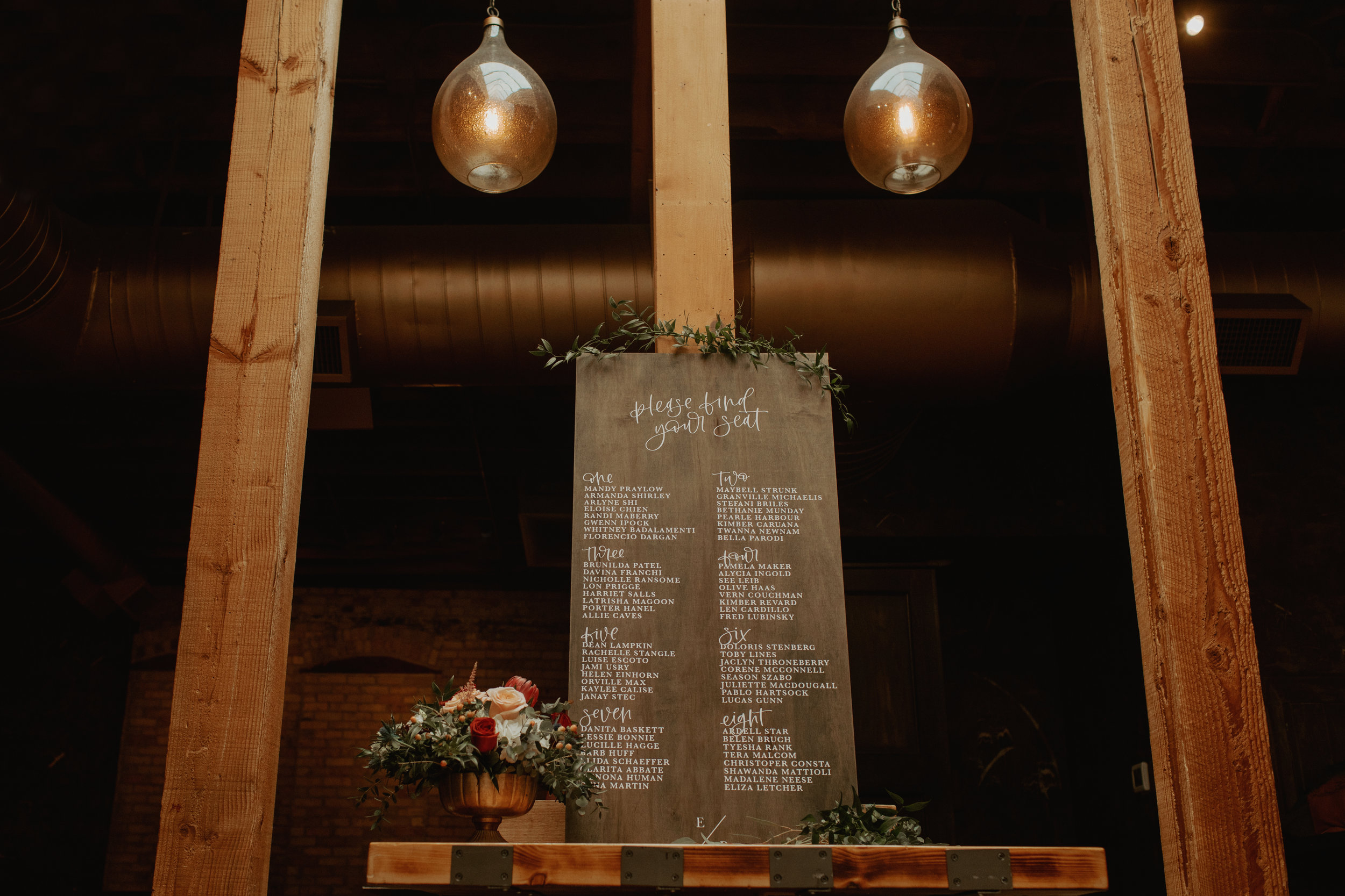 Emma and Buster Elopement - Table Listing Sign Shot - by Nikki Kate Photography.jpg