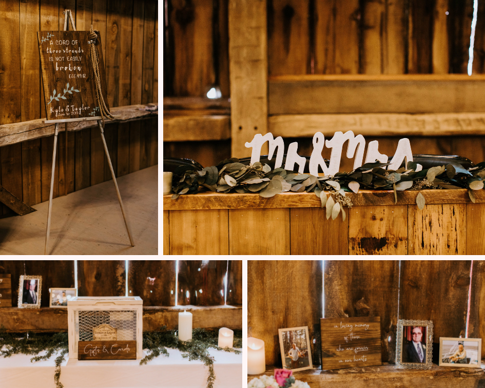 DIY edding ceremony decor details photos from a wedding at Lake Orchard Farm Retreat in Sheboygan, Wisconsin - Photo by Kaley Rae Photography.png