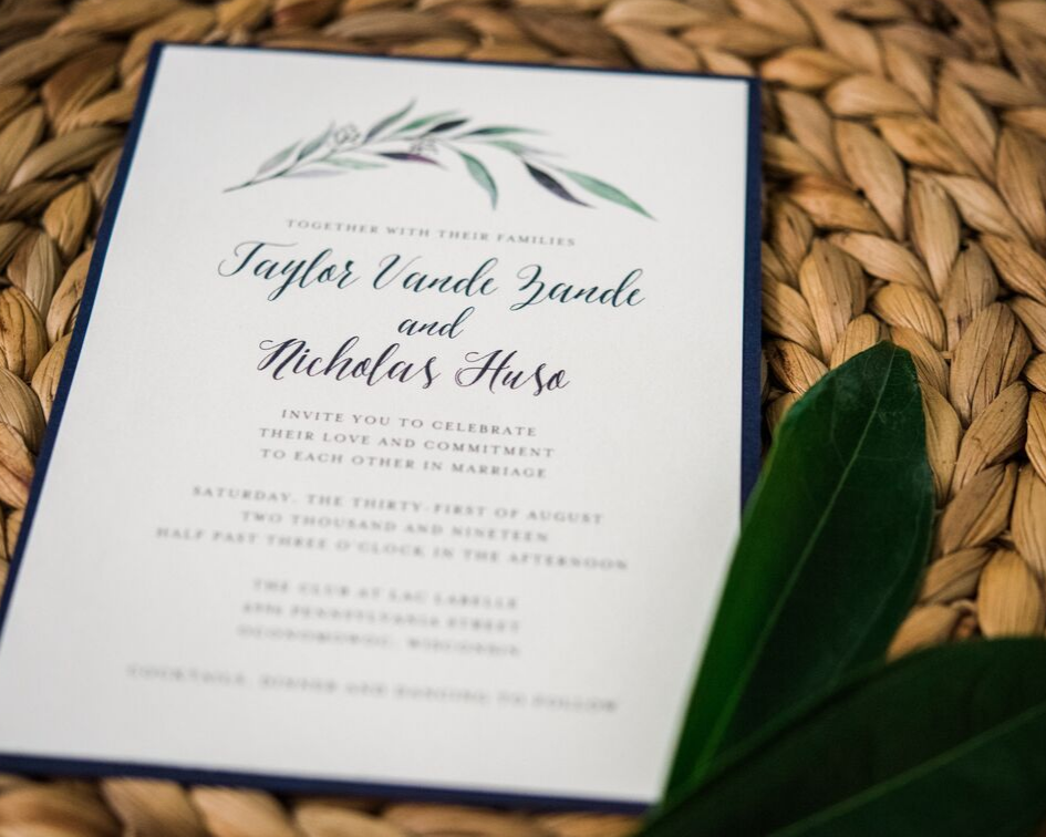 2 lake country wedding at the carriage house at lac labelle in oconomowoc wisconsin - planned by natural elegance llc - photo by spottswood photography - rustic elegant wedding invitiation.png