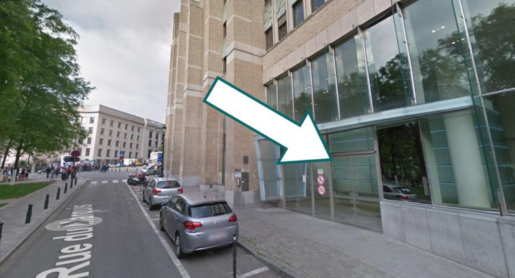 Entrance from Rue du Marquis 1, 1000 Bruxelles