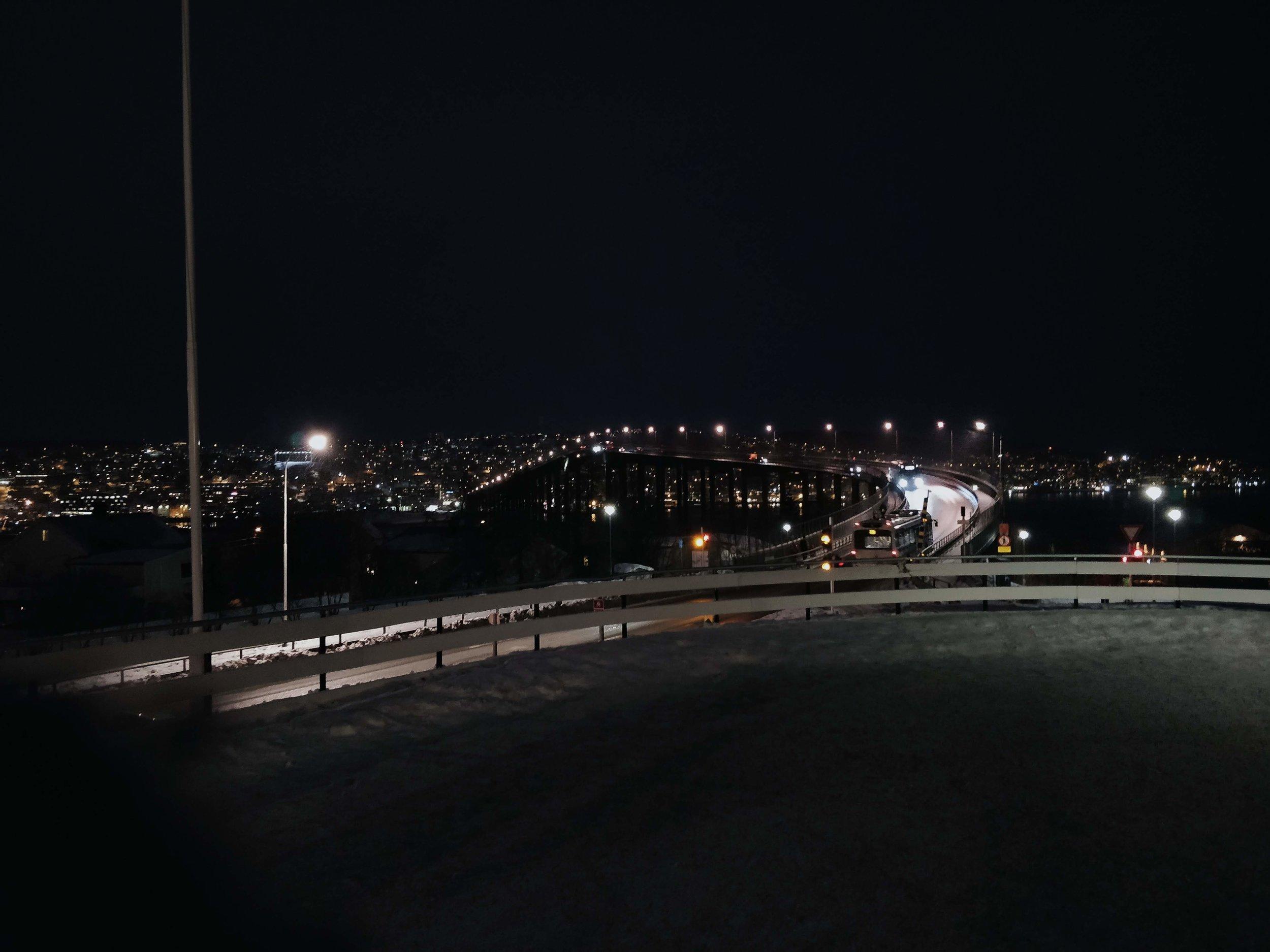 Tromsøbrua/Tromsø Bridge. This one's going in  My Travels!