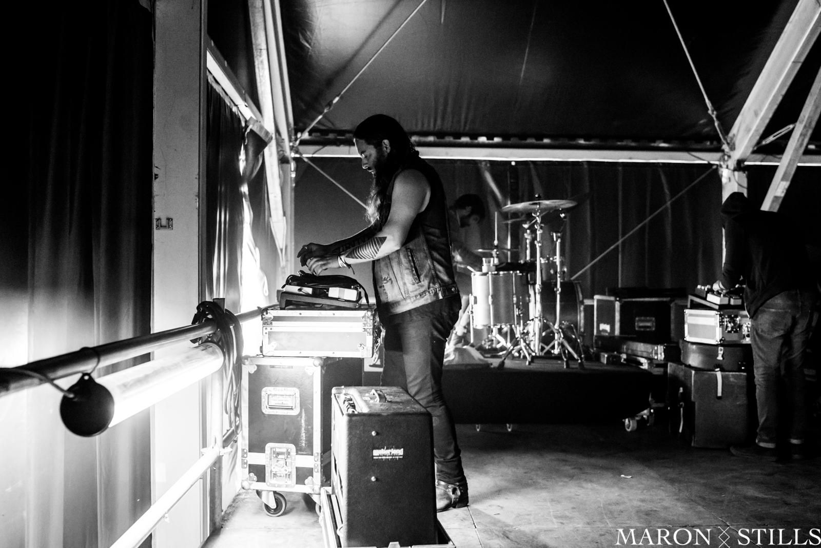 Documenting Strand of Oaks during European shows, Pukkelpop Festival Belgium 2017