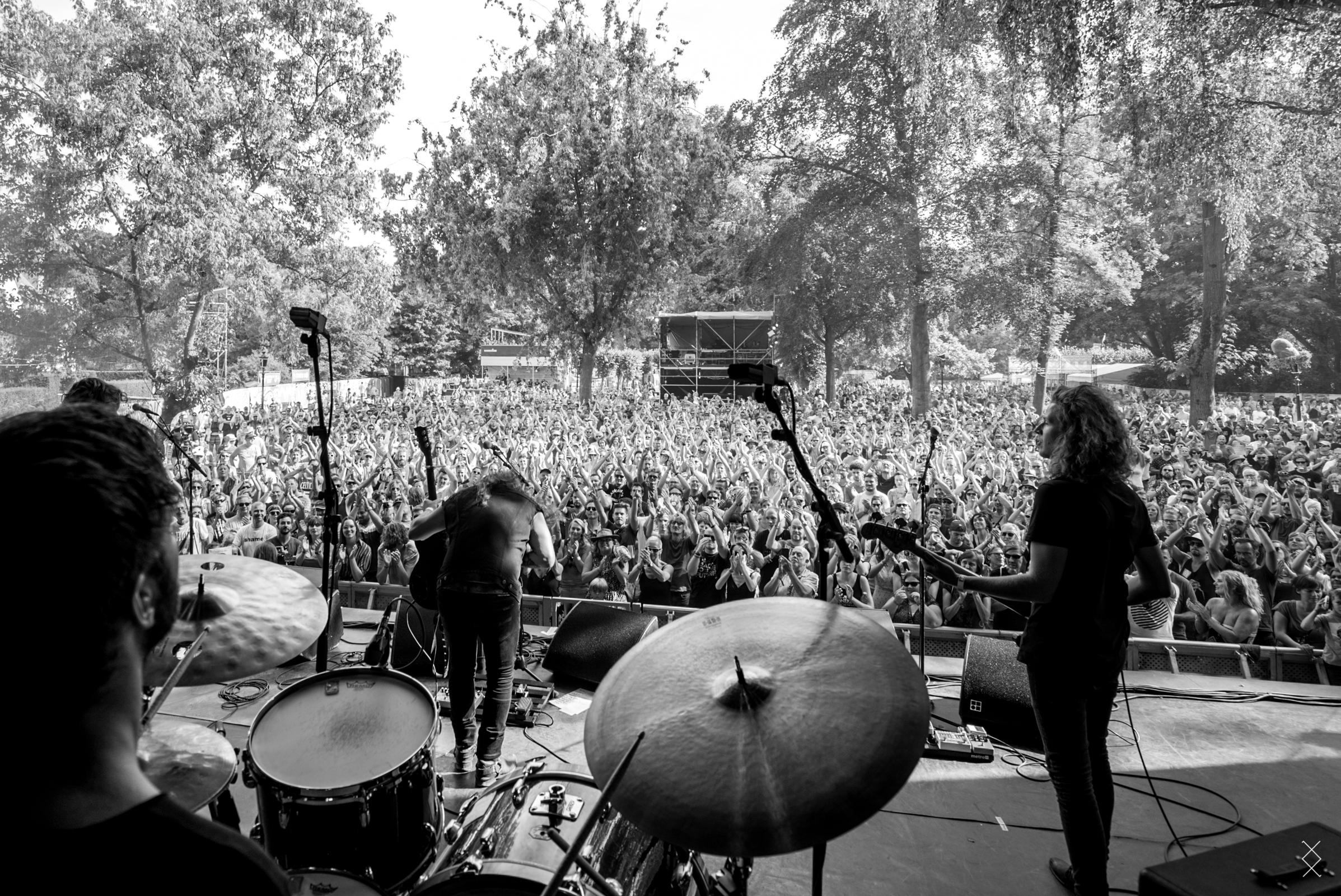 Documenting Strand of Oaks during European shows, Cactus Festival Belgium 2018