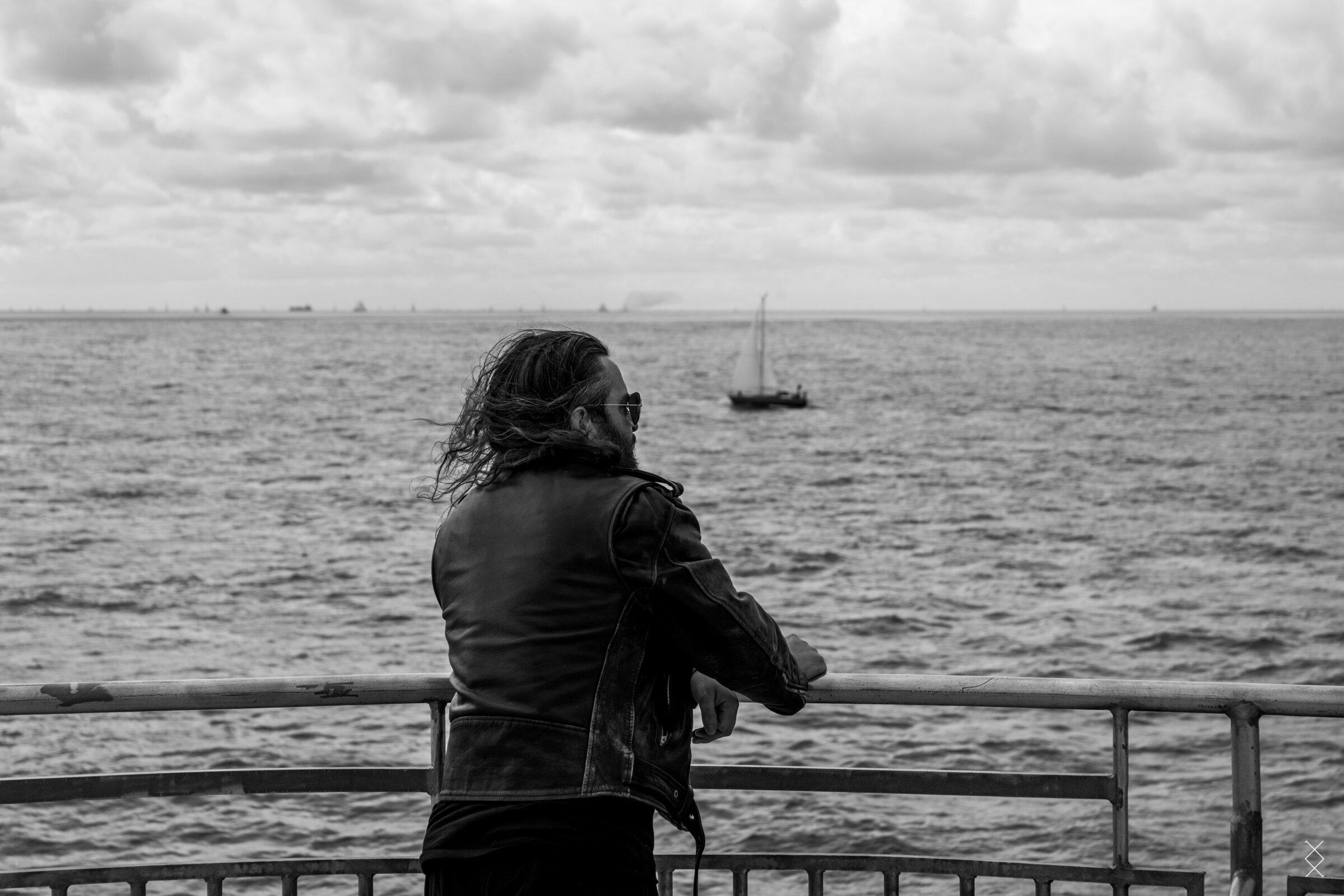 Documenting Strand of Oaks during European shows, Vlieland 2019