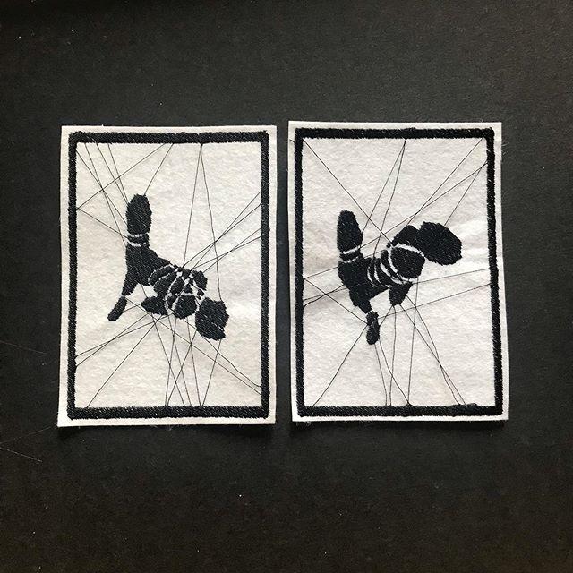Thread bondage. #shabari #bondage #embroidery