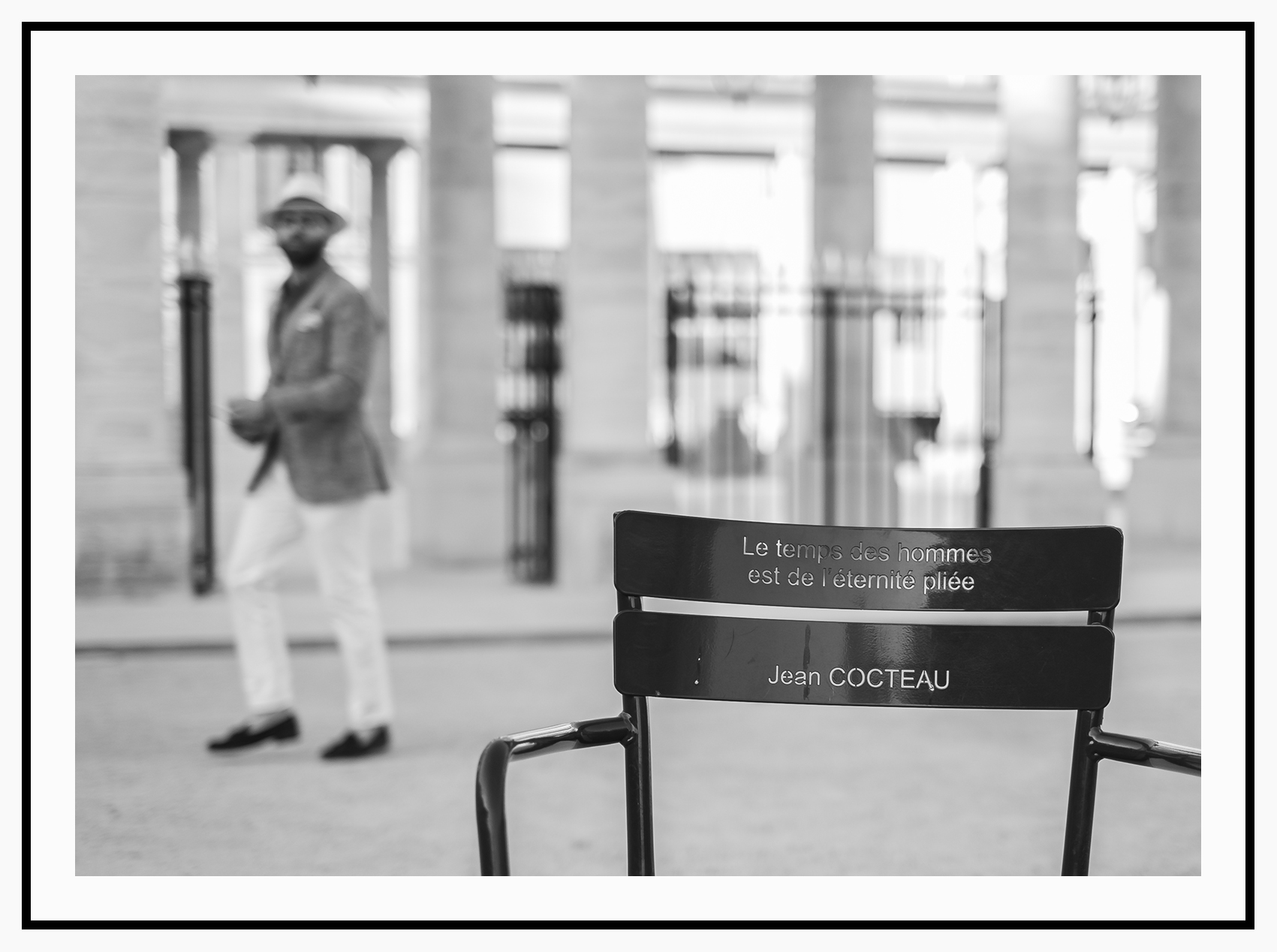 Paris - Palais Royal   Fuji XT1 with Fujinon XF 35mm f/1.4 R © 2019 Miguel Witte