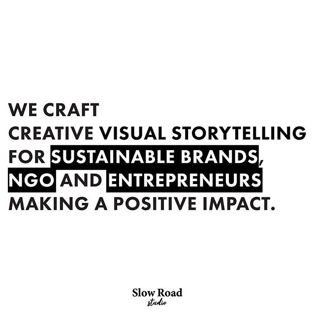 You cannot get through a single day without having an impact on the world around you. What you do makes a difference, and you have to decide what kind of difference you want to make. This is precisely why we work exclusively with sustainable brands, NGO or entrepreneurs making a positive impact: less but better.