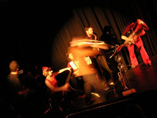 Ringleaders  band, 2004 Coolidge Corner Theater, Brookline MA