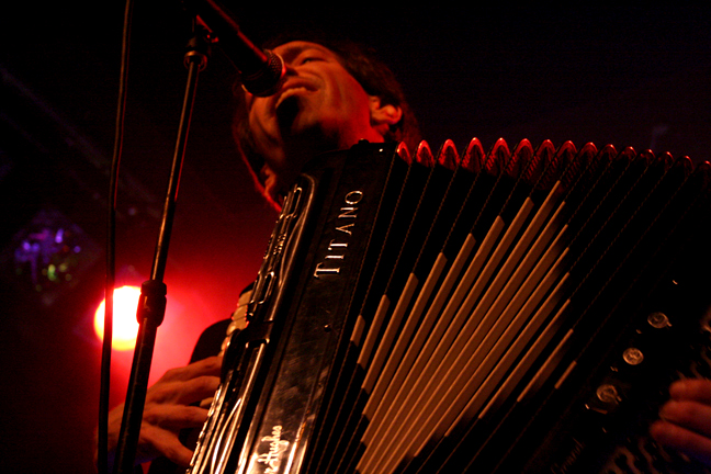 Brian Carpenter,  Knitting Factory NYC 2009, photo by Fairytale Vegas