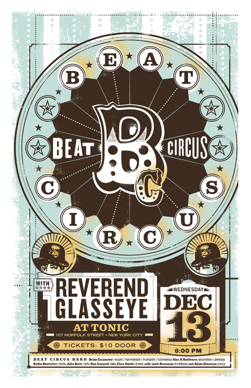 DEC 13 2007 TONIC NYC w/REVEREND GLASSEYE. BY LURE DESIGN