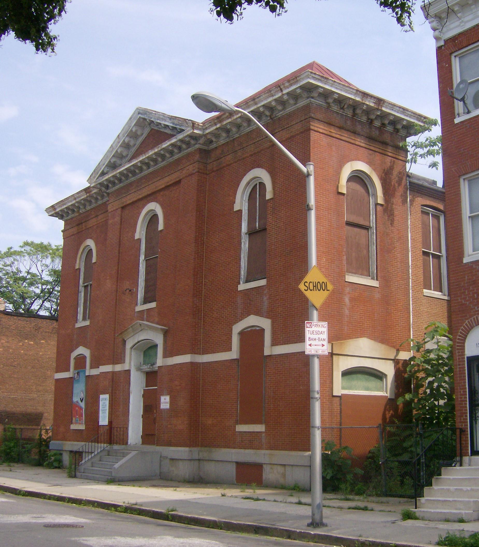 Thurgood Marshall Elementary School (PS 103) Historic Stabilization