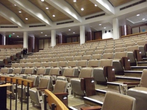 University of Maryland Lecture Hall One Renovations