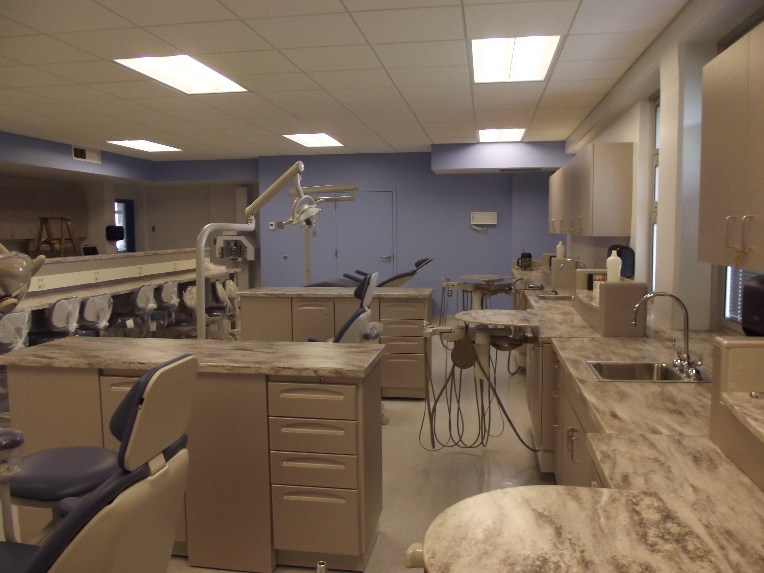 Vivien Thomas Dental Lab Renovations