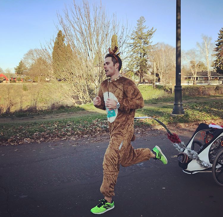 Former World Record Holder for Running the  Half-Marathon in an Animal Suit —  1:20:47