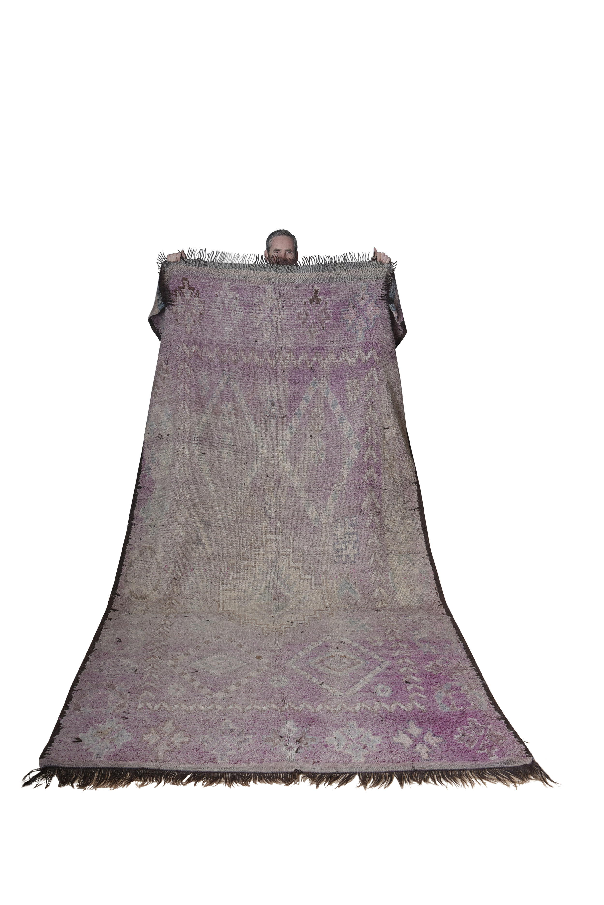 Large Vintage Moroccan Tribe Rug $100