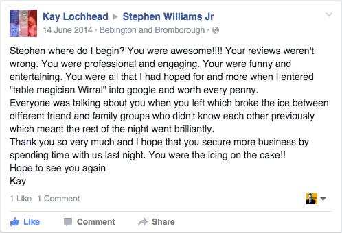 Stephen-Williams-Jr-Review-14-June-14
