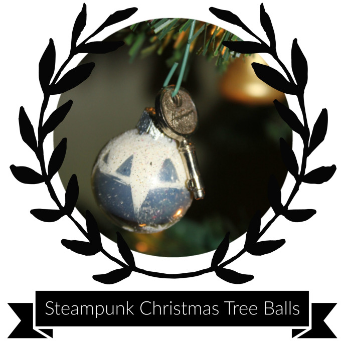 Supplies & Tools - Christmas tree ballTiny keyTree hook