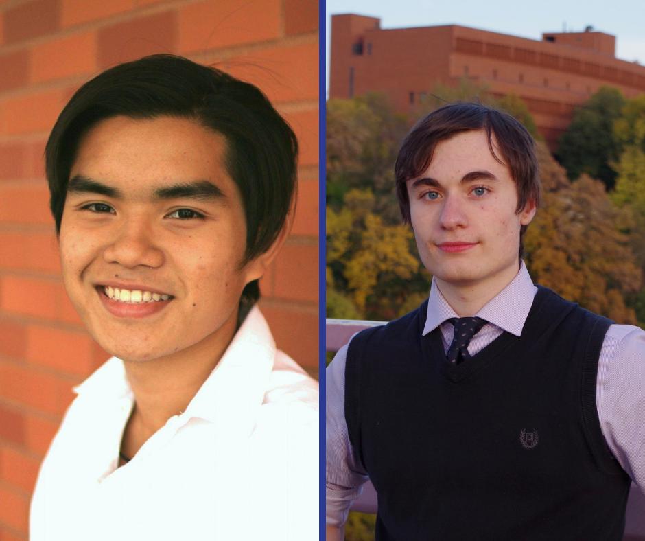 Voy Co-Founders Kiet Ho and Cody Perakslis.