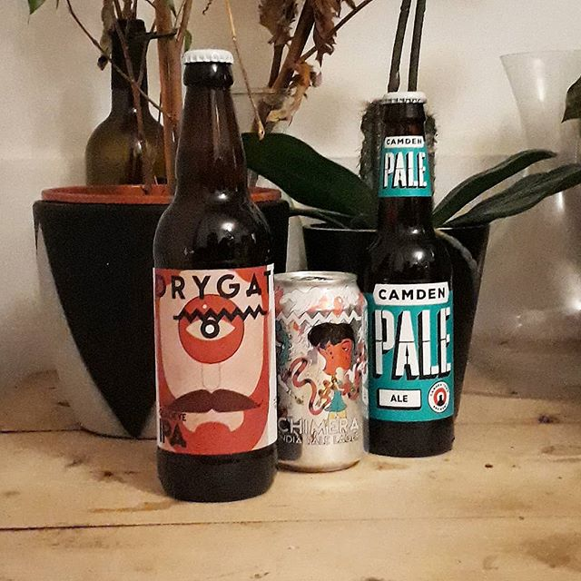Big city brews! London's @camdentownbrewery bringing us a classic, cool pale, and @drygate representing Glasgow with a couple of their finest hoppy and fruity numbers . . #beer #craftbeer #craftbrewer #craftnotcrap #craftbrew #craftbrewery #beerblog #beertrio #beeroclock #beeroftheday #botd #bottledbeer #beerart #beersofinstagram #brewoftheday #beerstagram #brewstagram #girlswhodrinkbeer #beergeek #drinkcraft #friyay #friday #fridayvibes #independent #indiemag #draughtmagazine