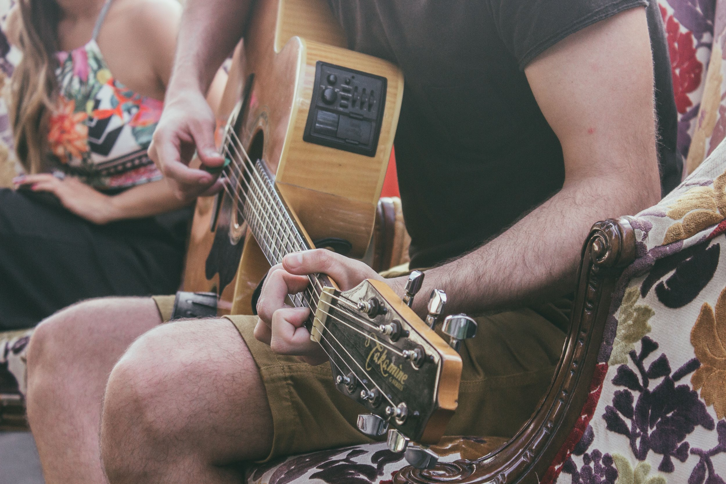 Learn the Essentials - Guitar Anatomy and TuningKey and Chord TheoryStrumming, Rhythm, and PracticingG, C, and E Shape ChordsThe Capo