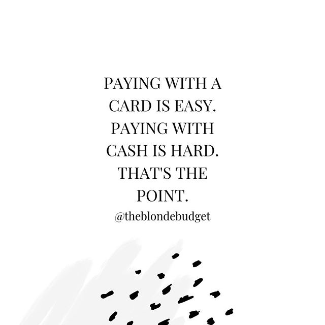 This week I'm talking all about CASH 💵 How you can use it to your advantage, why it can get you out of debt FASTER, and when you can start implementing it! • • • What questions do you have about cash & the cash envelope system? I want to answer as many questions as I can this week!👇🏼