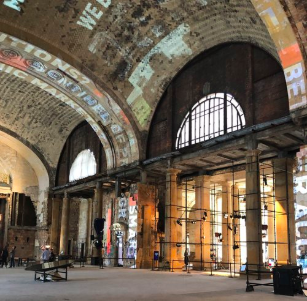 Michigan Central Station's lobby