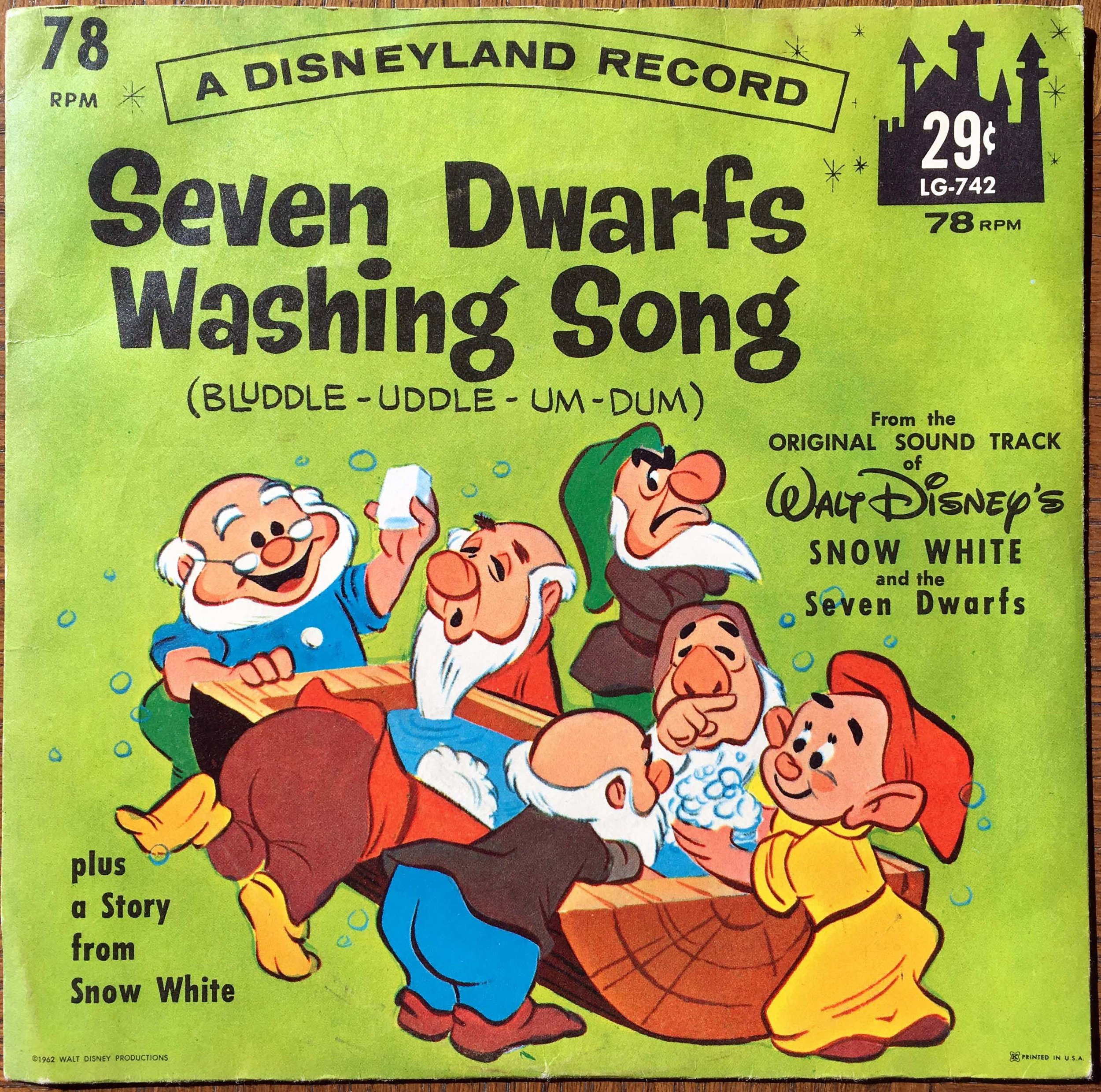 Seven Dwarfs Washing Song