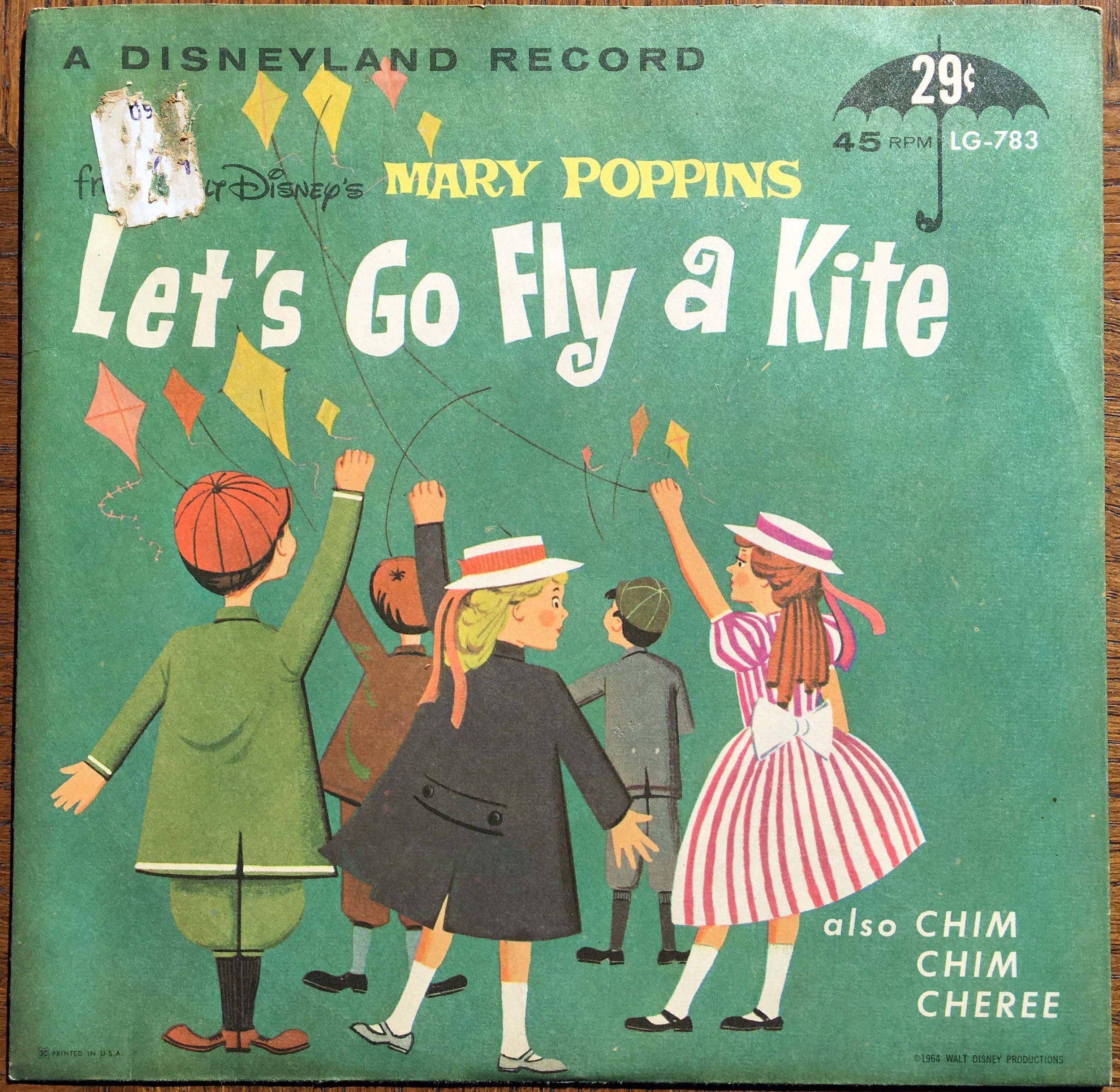 Let's Go Fly a Kite - MARY POPPINS