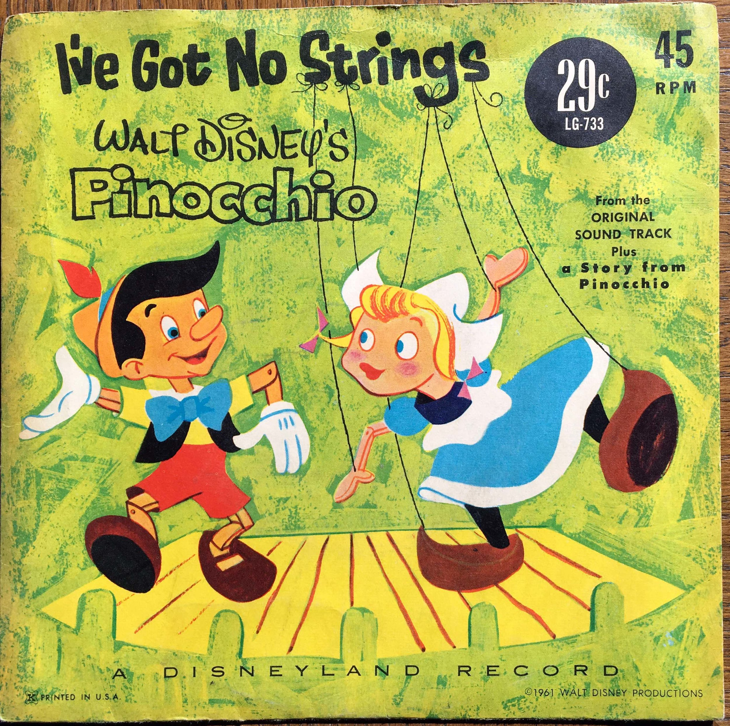 I've Got No Strings - Pinocchio