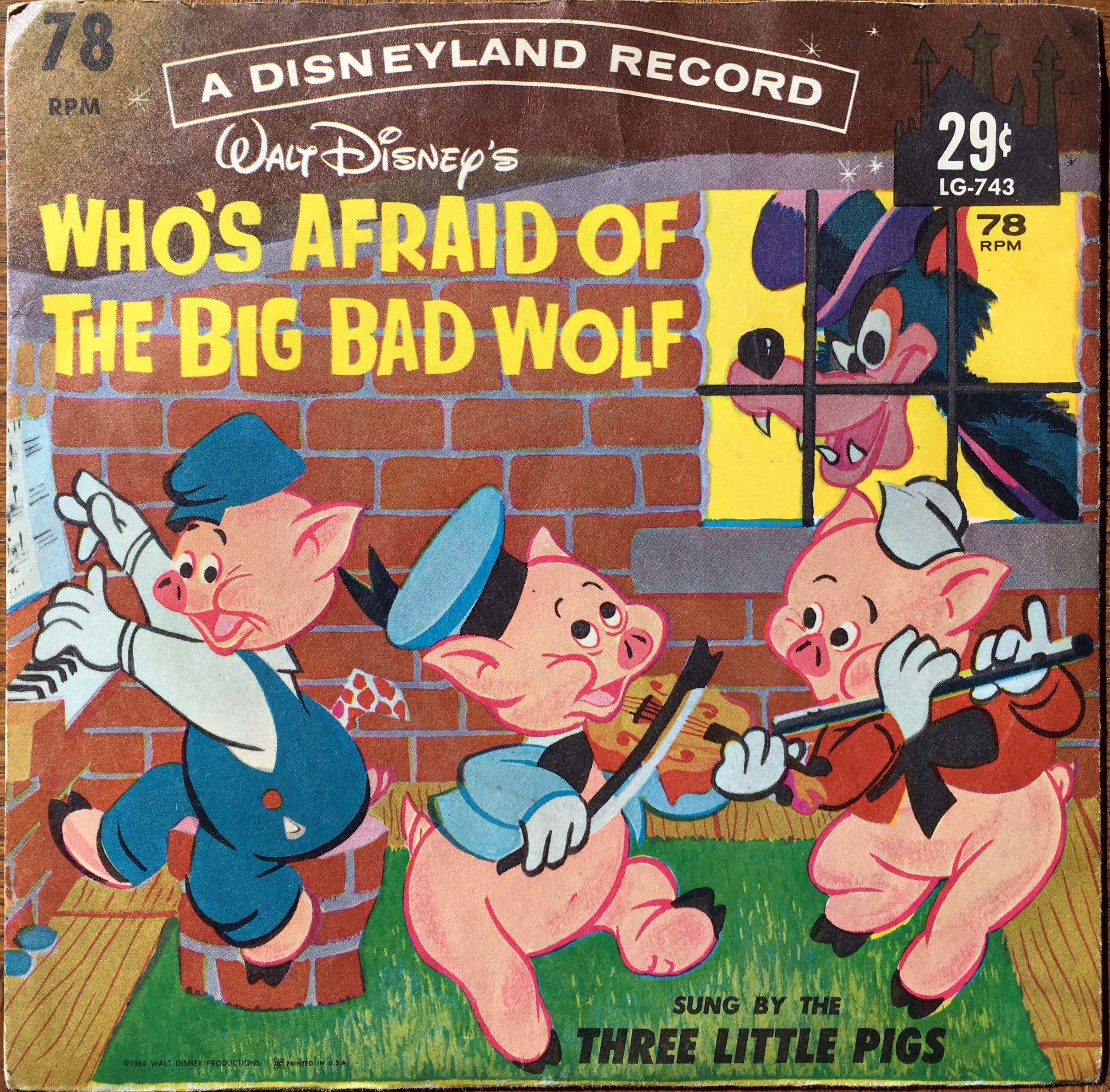WHO'S AFRAID OF THE BIG BAD WOLF
