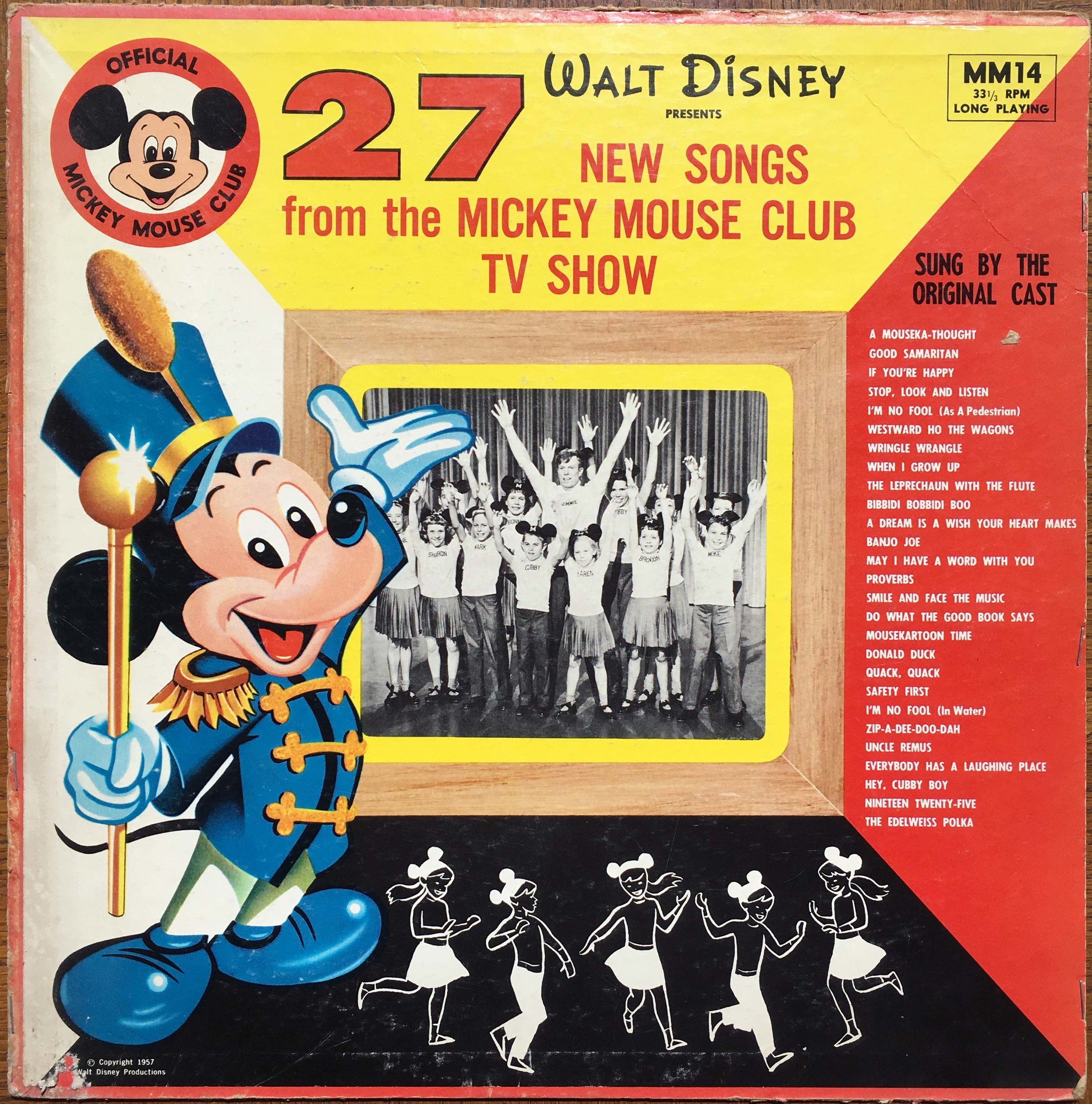 NEW SONGS from the MICKEY MOUSE CLUB TV SHOW