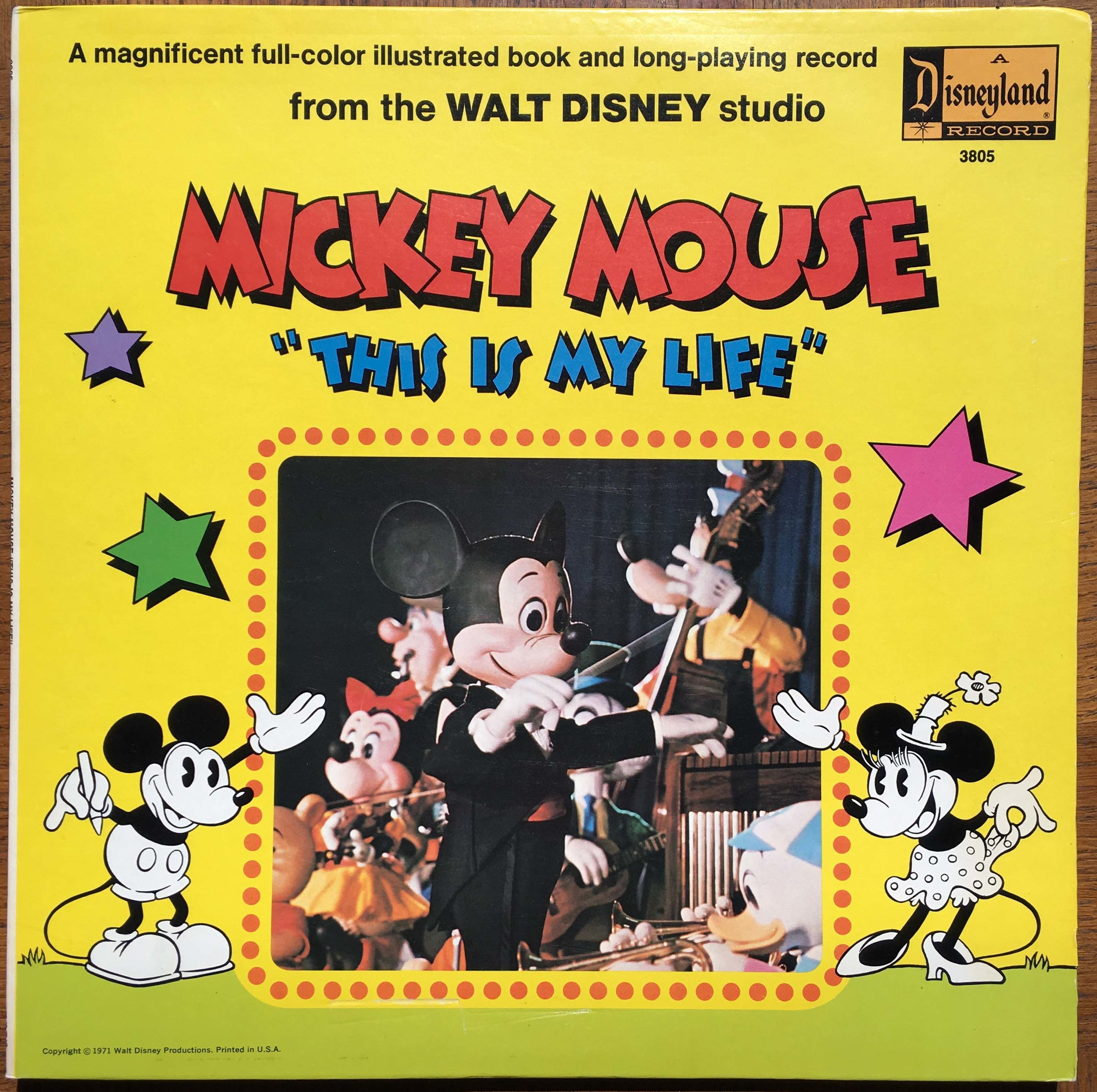 """MICKEY MOUSE - """"THIS IS MY LIFE"""""""