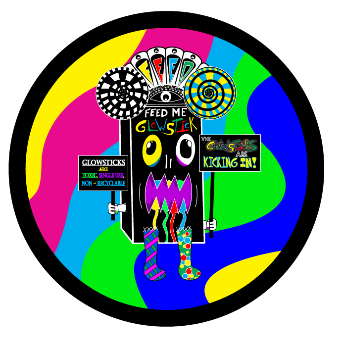 GLOW KID - The Glowsticks Are KICKING IN!Also more to come!