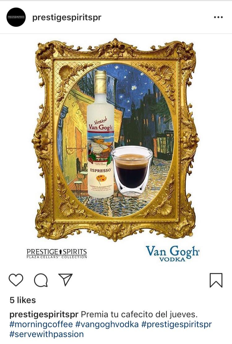 Van Gogh Vodka Espresso