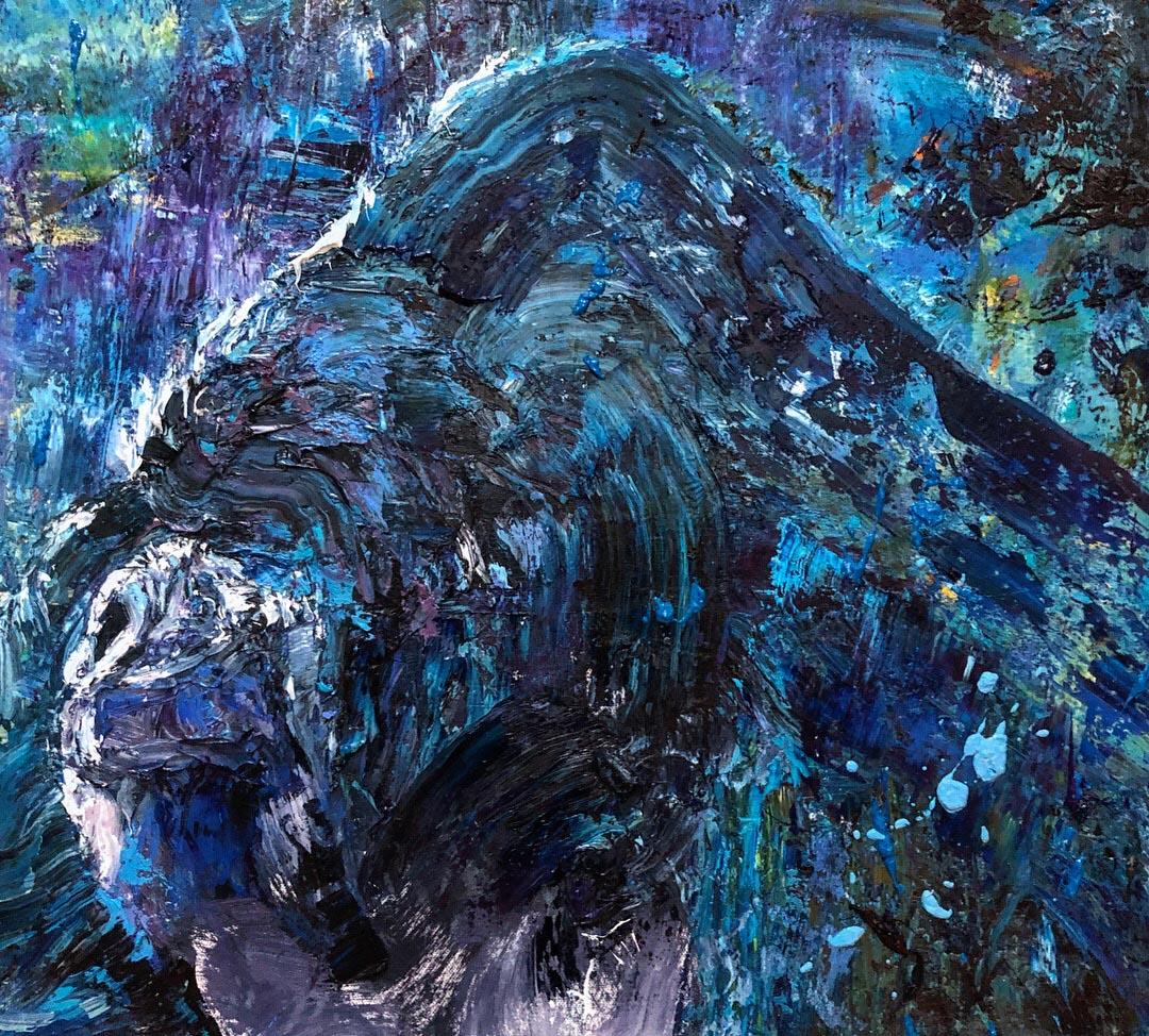 Chad Robertson Blue Gorilla Detail 01
